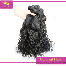 high quality 7a grade natural color virgin remy mongolian romance curl hair