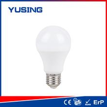 LED online store Plastic/ Plastic+Alu 110-240v 400-500lm e27 LED light bulb led bulb a60 plastic ayers