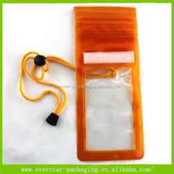 China Manufacture Customized Universal Mobile Phone PVC Waterproof Speaker Bag