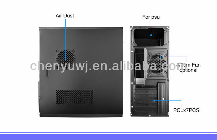 HIGH SHINNING COMPUTER CASE RT-305