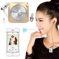Mini Clip Bluetooth Earphone Headset Headphones Mobile Phone Wireless Microphone Earplug