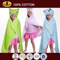 plain hooded poncho towels for kids