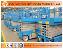 Full electric hydraulic self-propelled scissor lift new model lowest price ce