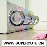 High quality ABS Four colors washing machine shape tissue holder&plastic coin bank