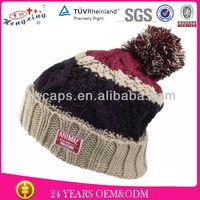 Cotton hand knit hat pattern crochet beanie hat for girls