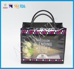 Custom Design Gift dedicated hard plastic Portable shopping bags