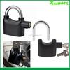 Heavy Duty Alarm Padlock Security Motorbike Garage Lock Trailer Bicycle Pad lock