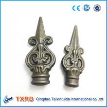 decorativos de hierro forjado lanzas