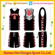 Fashionable hot sell sublimation men basketball shorts