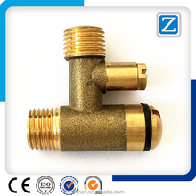 precision cnc turning brass material parts