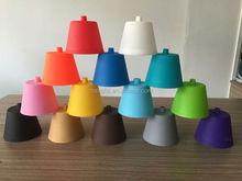 2015 popular coloful silicone modern chandelier for modern bedrooms