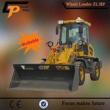 1.2 ton front end loader with big snow bucket for removing snow