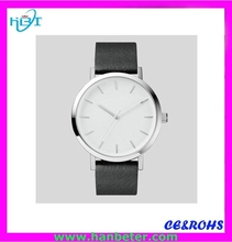 Classic new design slim style watch with big dial the horse watch