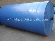 Prata azul camping lonas poli material de construção folha& rolos tecido para forrar sofá