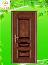 HOTAI DOORS 2015 Cheap Price House Front Door Design & Paint Colors Exterior Door Styles & Fire Rated Steel Security Door-SFR-17