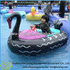 Amusement park rides aqua boat kids inflatable animal paddler boat for kids and adults