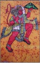 25 India Art Ethnic Hindu Gods Batik Paintings Wholesale Lot