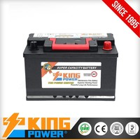 DIN68 MF High Capacity 12V Car Battery 68AH with low price