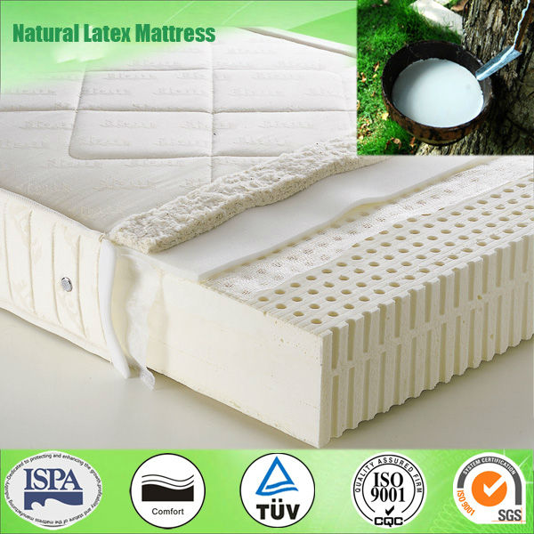 100% Natural Latex Foam Mattress Buy Latex Foam Mattress
