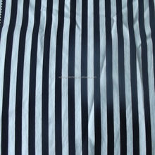Wet Print Stripe Cotton Spandex Blended Stretch Fabric For Pants