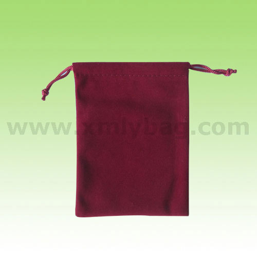 New Style Many Colors Drawstring Velvet Gift Bag