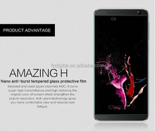 The most popular wholesale high quality 9H premium tempered glass film screen protector for HTC one E9+/E9 plus