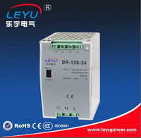 Single output DR-120-24V AC to DC power supply 24v din rail switch