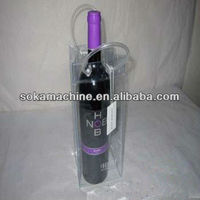 cheap colorful freezing wine bag with custom logo