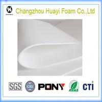 High density environmental foam lined packaging spray foam packing material