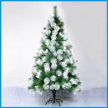 120CM Artificial Christmas Tree Flocking Decoration Pine Needlle Tree