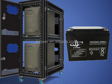 Guangdong manufacture 12V24ah ups battery/alibaba credit guarantee/ CE/UL high quality battery.