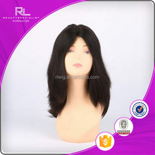 High quality top sell nice stock half man made jewish wig