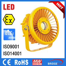 30W - 120W led lamp, ATEX IECex approved use in hazardous areas explosion proof led lighting fixtures, LED Explosion proof light