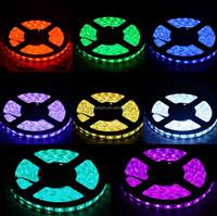 RGB 5050 SMD waterproof 300 LED Light Strip Flexible + IR Remote 12V power