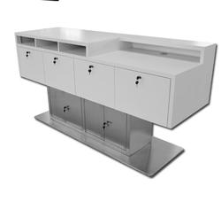Modern Checkout Desk Counter Front Desk for Mobile Store/Hotel/Beauty Salon