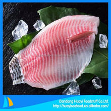frozen high quality new fishing tilapia fillet supplier