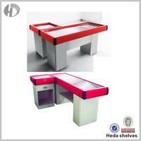 Lower Price Oem Service Supermarket Cashier Counter Desk
