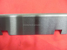 sealing machine straight toothed saw blade