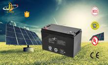 Solar power system rechargeable 12v ups battey 12v 100ah rechargeable gel battery storage 100ah 12v solar battery