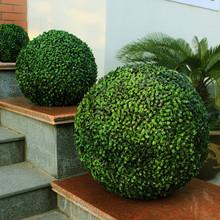 artificial boxwood ball hedge decorative garden