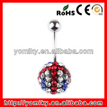 Wholesale popular belly ring navel ring sex piercing pictures