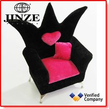 Pretty Velvet Chair Jewelry Box