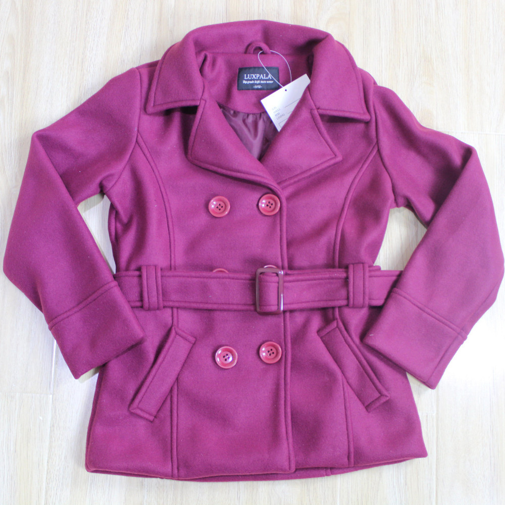 wholesale boutique clothing s woolen coat and