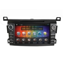 Pure Android 4.4.4 Touch Screen car DVD player car DVD GPS for Toyota RAV4 2013 with 3g WiFi bluetooth