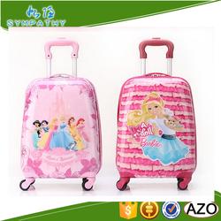 Children cartoon luggage school bag trolley luggage for kids
