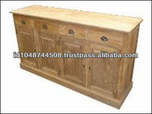 Recycled Wood Furniture, Reclaimed Buffet Teak Furniture