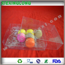 clear transparent Macaron cases