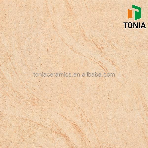 Sandy Brown Matte Semi Polished Sandstone Look Rustic Porcelain Tile