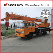 10 ton mobile hydraulic crane from China GNQY698