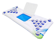 Cheap Plastic Water Game Inflatable PVC Beer Pong Floaty Table